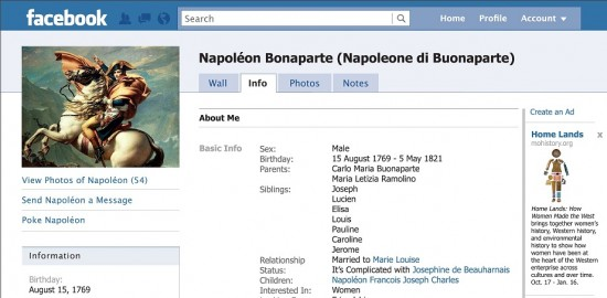 History Museum Receives A Friend Request From Napoleon