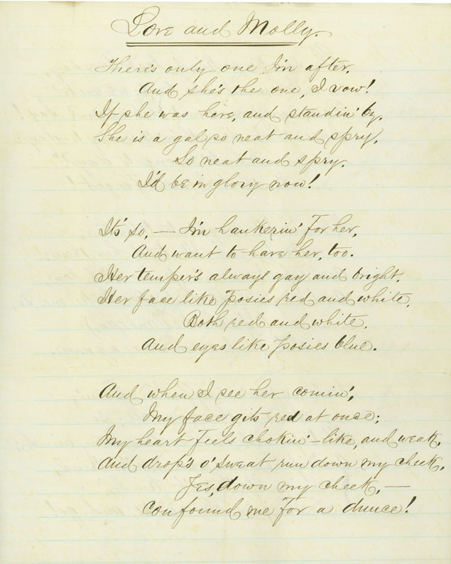 civil war love letters: may 1–2, 1862
