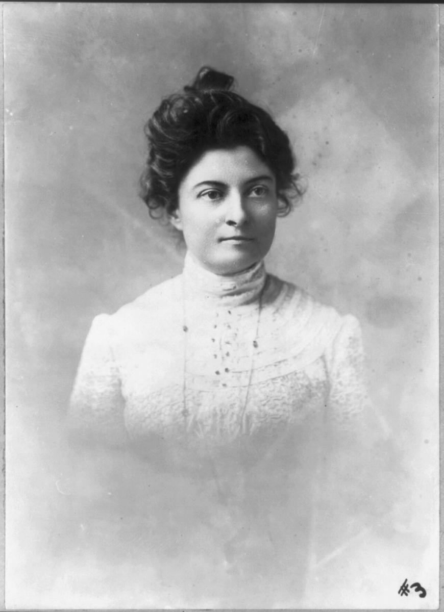 Black-and-white photo of Dr. Anita Newcomb McGee
