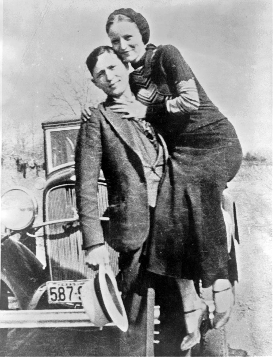 Photo of Bonnie and Clyde
