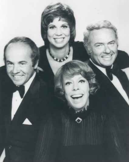 Photo of the 1977 cast of The Carol Burnett Show