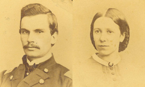 Portraits of David P. Grier and Anna McKinney