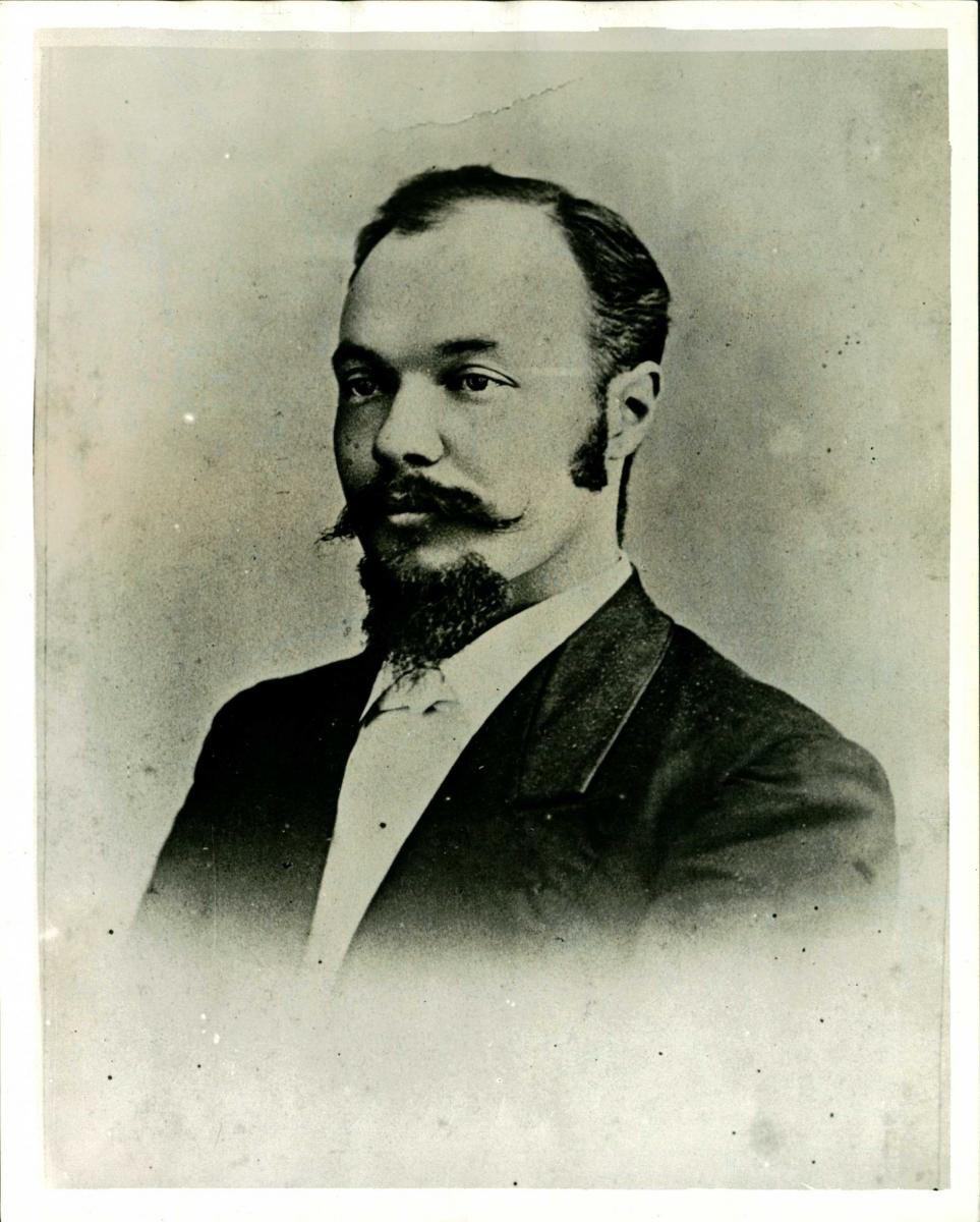 Black-and-white photo of Dr. Henry Clay Davis