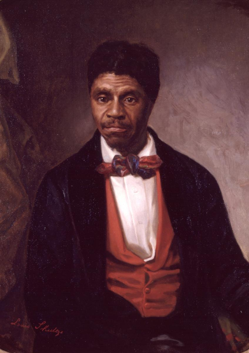Color portrait of Dred Scott