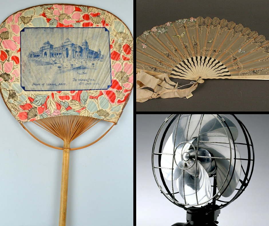 Photos of fans from the MHS collections