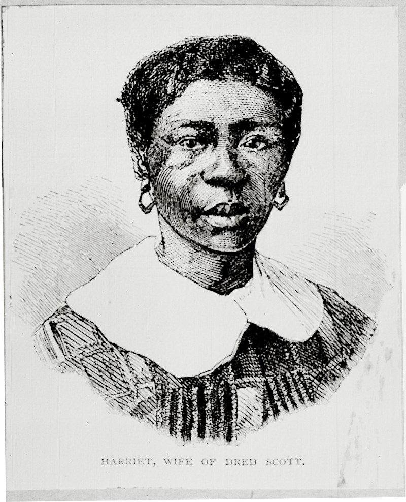 Engraving of Harriet Scott