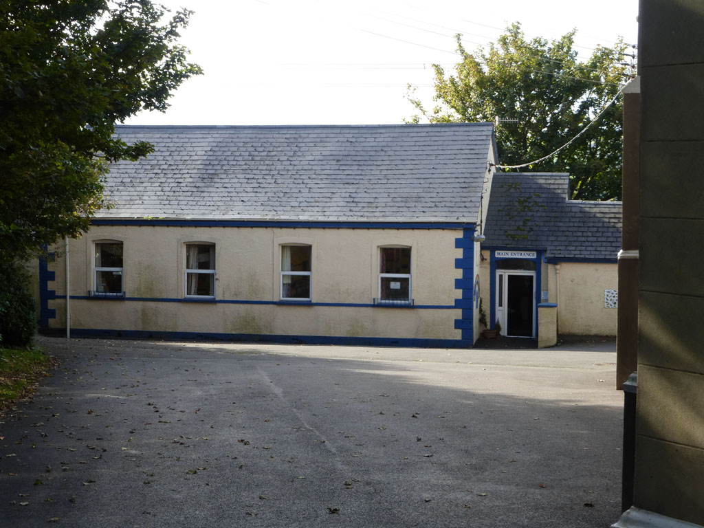 Old schoolhouse in Islandmagee, Ireland