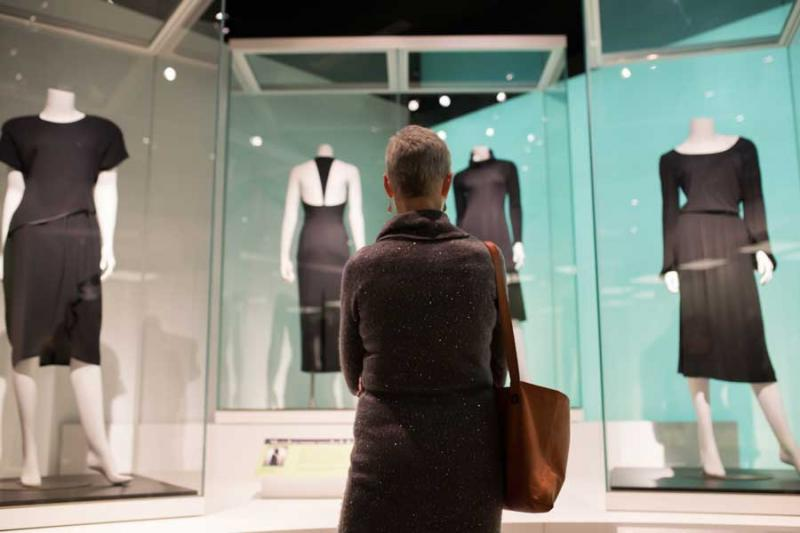 Little Black Dress exhibit at MHM
