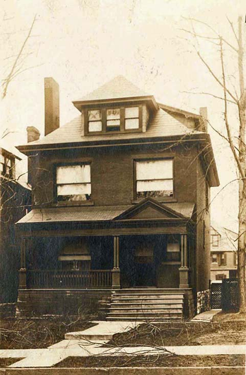 House that James and Molly lived in from 1898 until their deaths