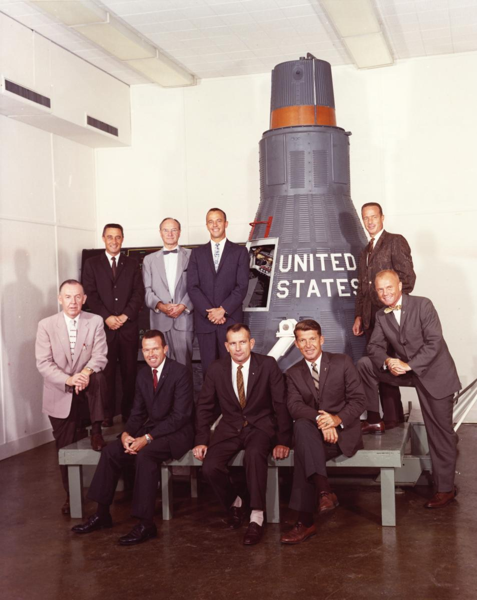 Photo of the Mercury spacecraft