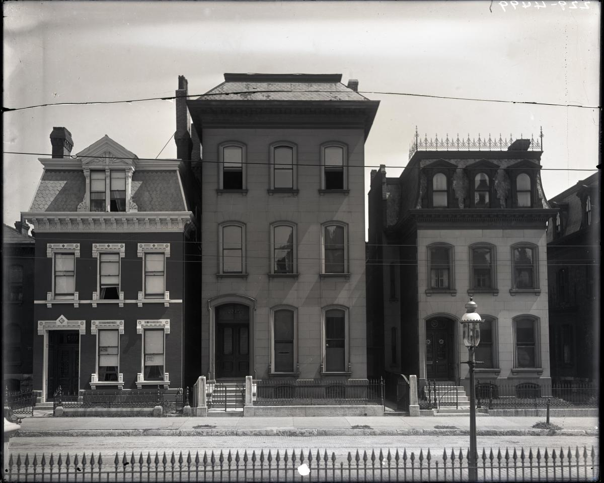 Photo of rowhouses