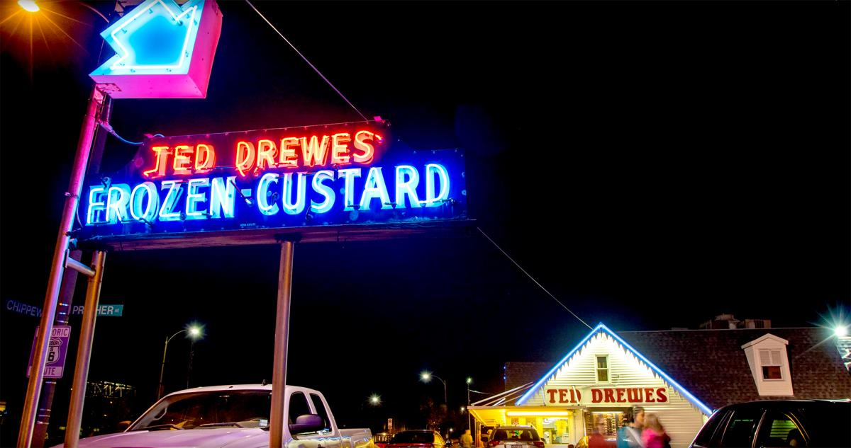 Color photo of Ted Drewes