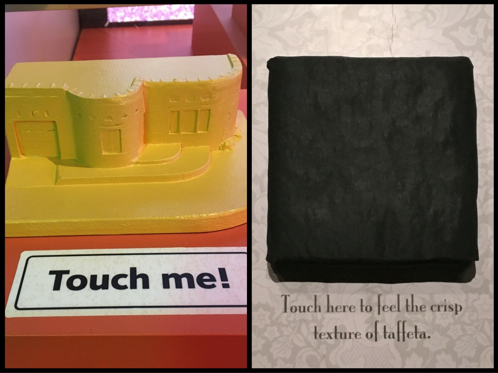 Examples of touchables in the Route 66 and Little Black Dress galleries