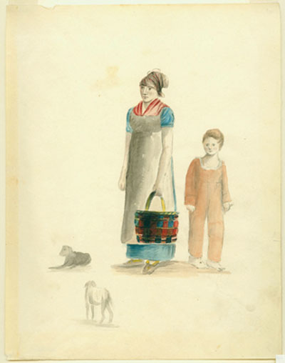 Creole woman and child.