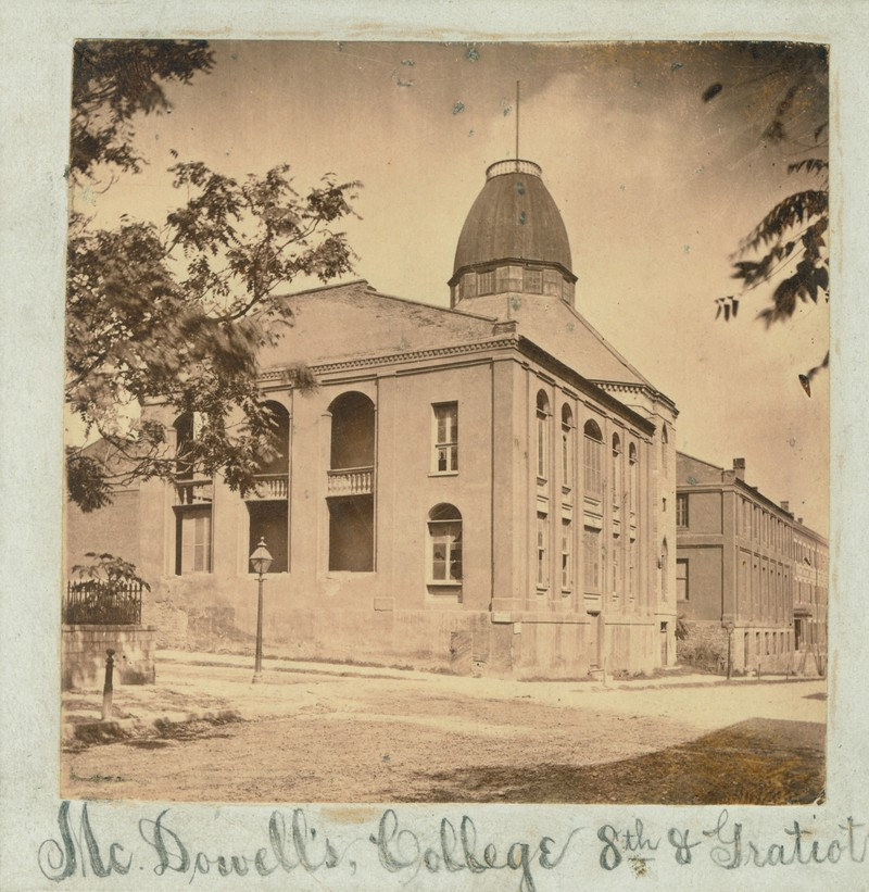 Photograph of the Missouri Medical College
