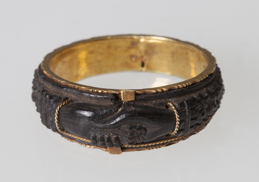 mourning ring from the mid-1800s